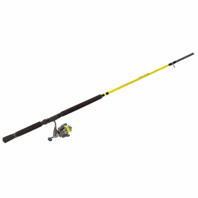 Lews Slab Daddy Jig/Troll Spinning Combo Rod and Reel