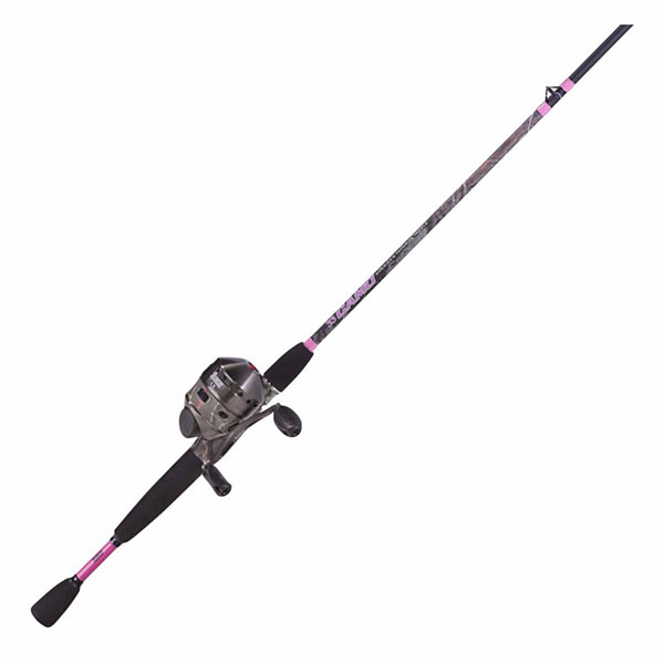 Zebco 33 Ladies Camo Spincasting Combo Rod and Reel