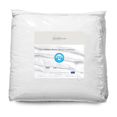 Allied Home Deluxe White Down Midweight Reversible Down Comforter