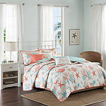 Madison Park Pacific Grove 6-pc. Beach + Nautical Easy Care Coverlet Set