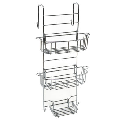 Zenna Home Over the Shower Door Caddy