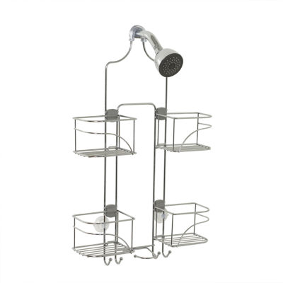 Zenna Home Expandable Over the Shower Door Caddy