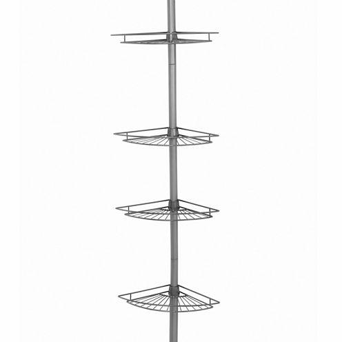 Zenna Home Tension  Corner Pole Shower Caddy
