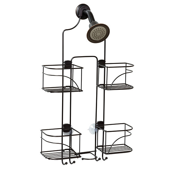 Zenna Home Expandalbe Over the Shower Caddy