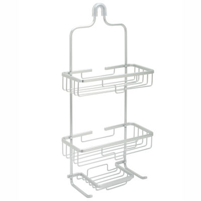Zenna Home Aluminum Over the  Shower Caddy