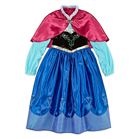 Disney Collection Frozen Anna Girls Costume