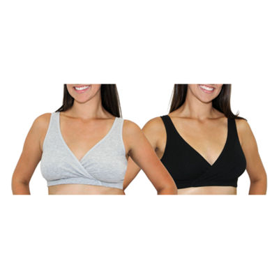 Leading Lady® 2-pk. Cotton Sleep Nursing Bras