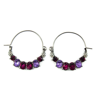 Arizona Multi Color Hoop Earrings