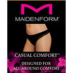 Maidenform Casual Comfort Knit Thong Panty Dmccth