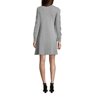 Spense Long Sleeve A-Line Dress