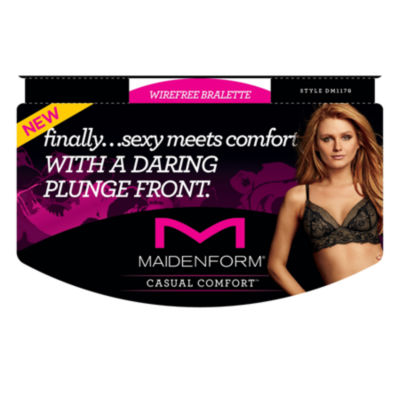 Maidenform Casual Comfort Lace Wirefree Bralette - DM1178