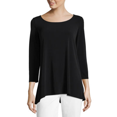 Liz Claiborne  3/4 Sleeve Tunic - Tall