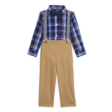 IZOD 4-pc. Pant Set Baby Boys