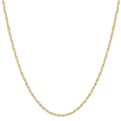 "Made in Italy 14K Gold 1.1mm 18-20"" Perfectina Chain Necklace"
