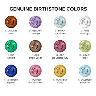 Celebrations Of Life Womens Genuine Multi Color Multi Stone 10K Gold Band