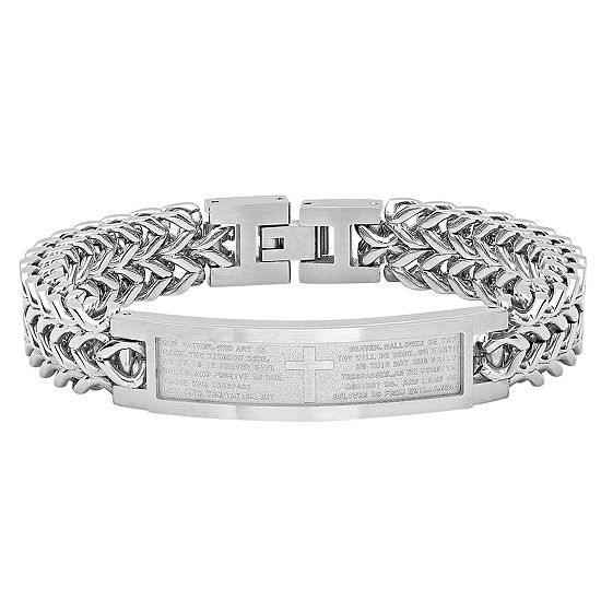 Stainless Steel 85 Inch Solid Chain Bracelet
