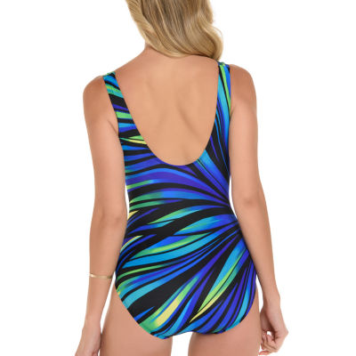Robby Len By Longitude Panel One Piece Swimsuit