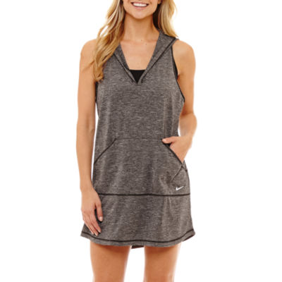 Nike Knit Swimsuit Cover-Up Dress