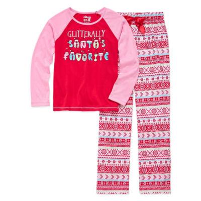 Cloud 9 2-pc. Pant Pajama Set Girls