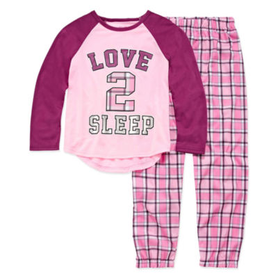 2-pc. Pant Pajama Set Girls