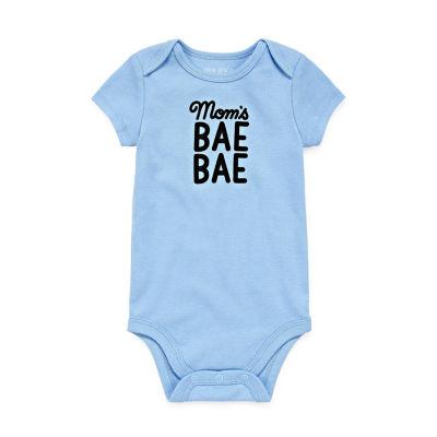 """Okie Dokie """"Mom's Bae Bae"""" Short Sleeve Bodysuit - Baby NB-24M"""