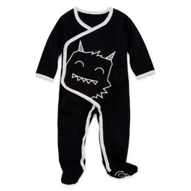 Okie Dokie Monster Full Snap Sleep and Play - Baby NB-9M