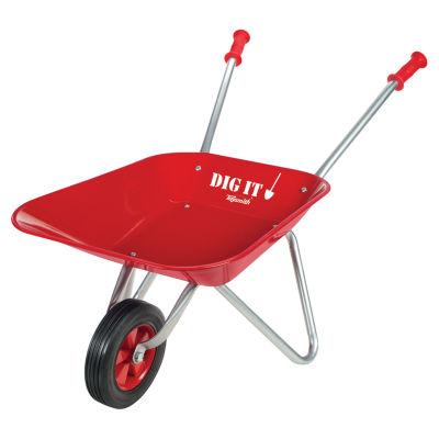Little Red Metal Wheelbarrow