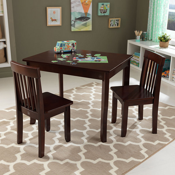 KidKraft Avalon Table II & 2 Chair Set