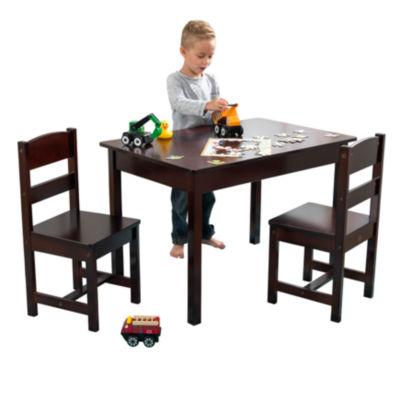 KidKraft Rectangle Table & 2 Chair Set