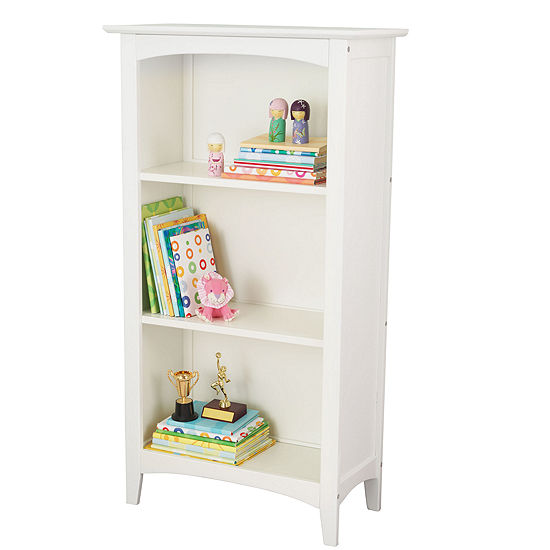 KidKraft Avalon 3 Shelf Bookcase - White