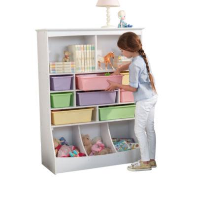 KidKraft Wall Storage Unit - White