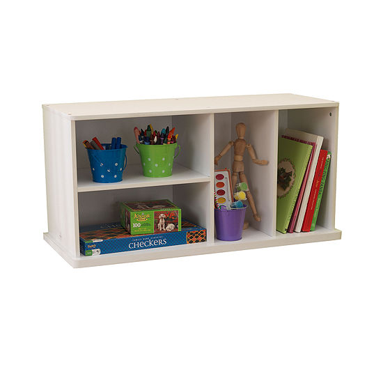 KidKraft Storage Unit with Shelves - White