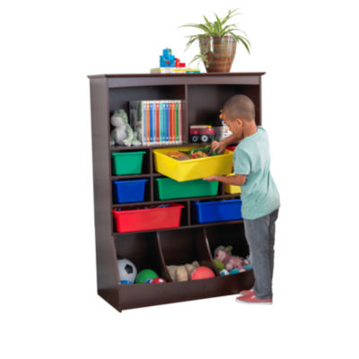 KidKraft Wall Storage Unit - Espresso