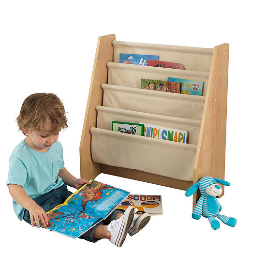 KidKraft Sling Bookshelf Natural JCPenney