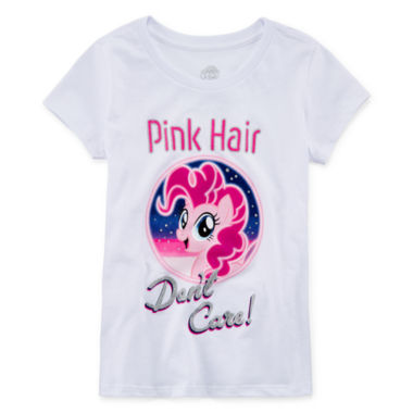 Short Sleeve My Little Pony T-Shirt - Big Kid Girls