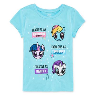 Short Sleeve My Little Pony T-Shirt - Big Kid Girls