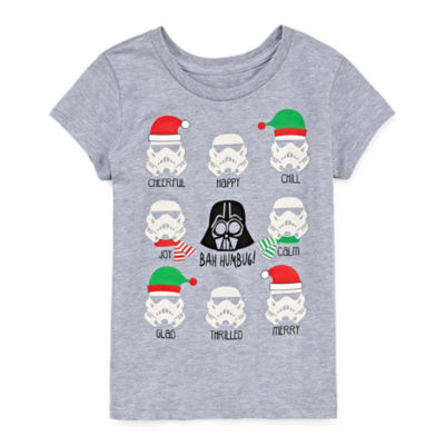 Star Wars Holiday Graphic T-Shirt- Girls' 7-16