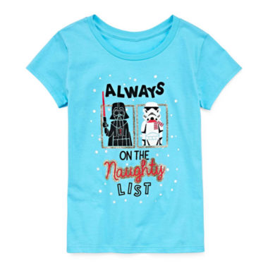 Star Wars Holiday Graphic T-Shirt - Girls' 7-16