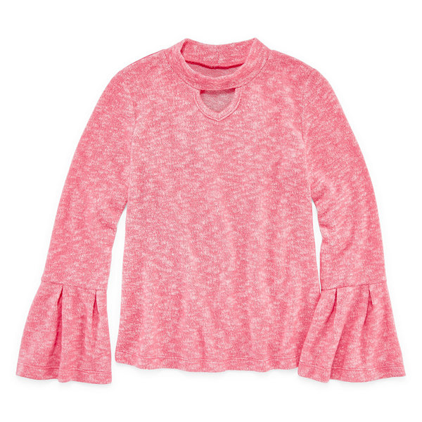 Arizona Gigi Bell Sleeve Top - Girls 4-16 & Plus
