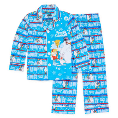 Frosty The Snowman Family Pajama Set-Big Kid