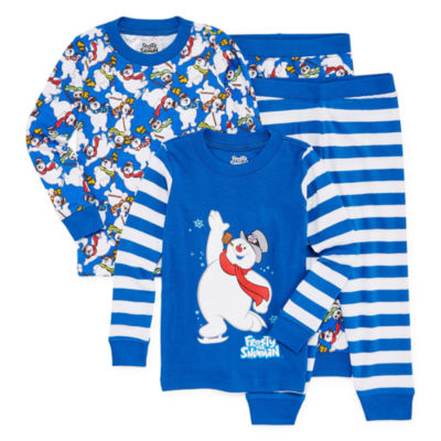 Frosty The Snowman Family Pajama One Piece-Toddler