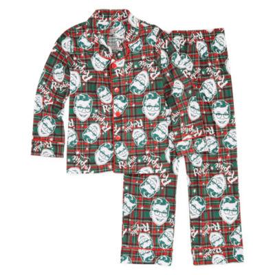 A Christmas Story Ralphie Coat Front Family Pajama Set- Big Kid