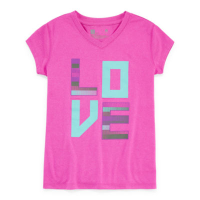 Xersion Polyester Graphic Tee - Girls' 7-16