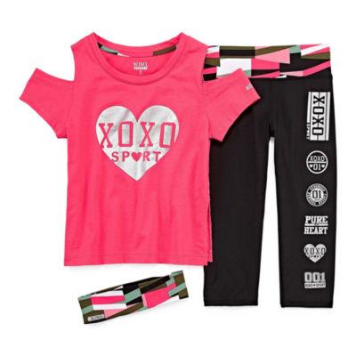 Xoxo 3-pc. Pant Set Big Kid Girls