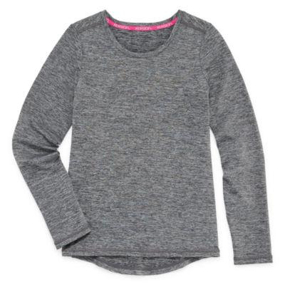 Xersion Long Sleeve Thermal Top - Big Kid Girls Plus