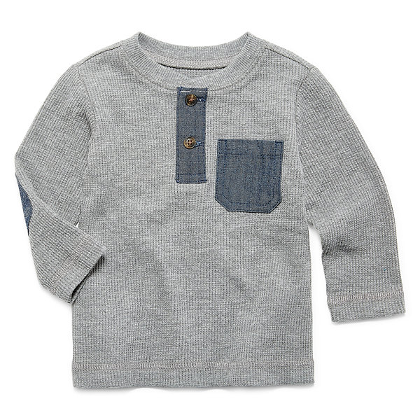 Arizona Long Sleeve Henley Shirt - Baby Boys