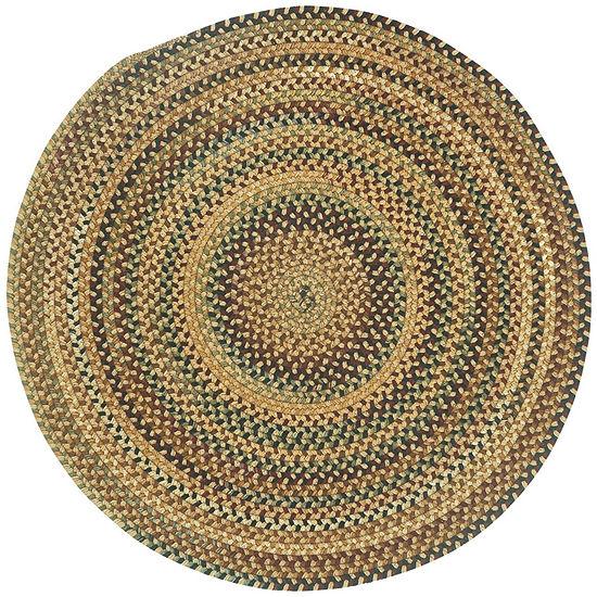 Capel Inc. Bangor Concentric Braided Round Rugs