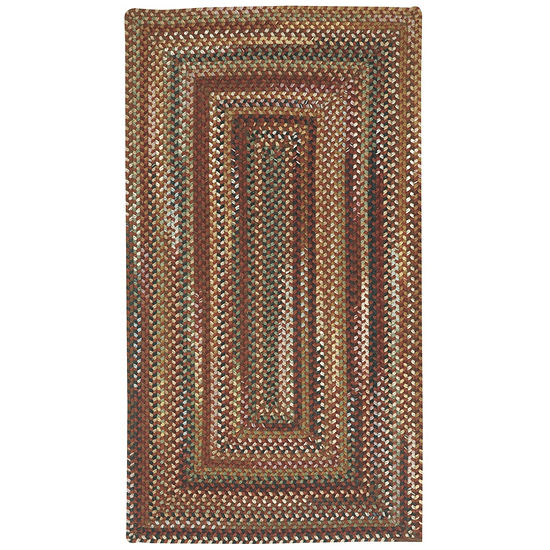 Capel Inc. Bangor Concentric Braided Rectangular Rugs