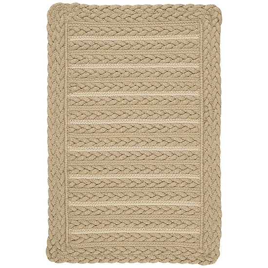 Capel Inc. Boathouse Cross Sewn Braided Rectangular Rugs