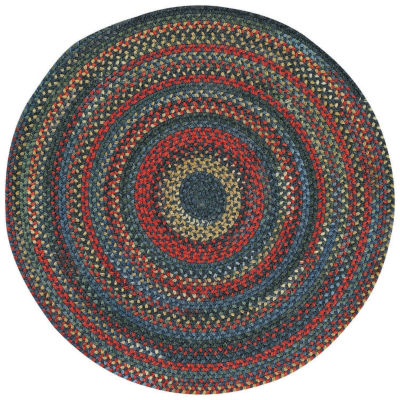 Capel Inc. High Rock Concentric Braided Round Rugs